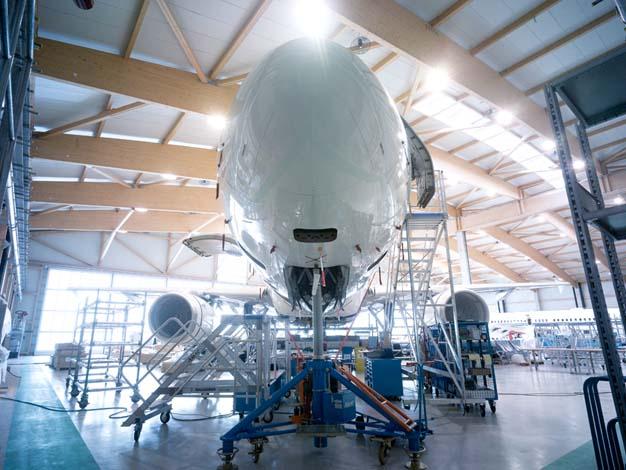Les aménageurs de Boeing privés courtisent le Golfe au salon Ebace