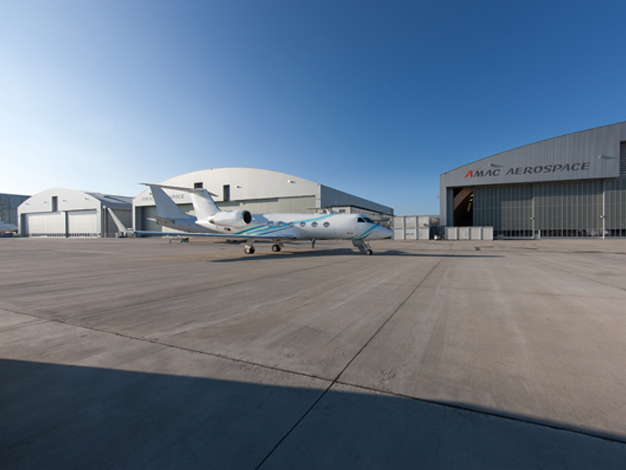 AMAC Aerospace Opens New Hangar