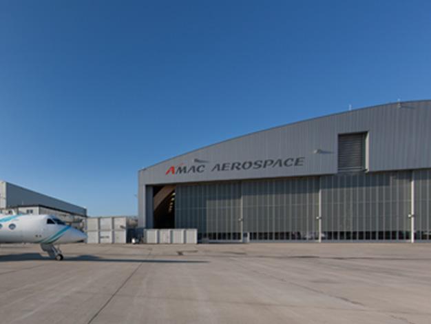 Vierter Hangar in Betrieb