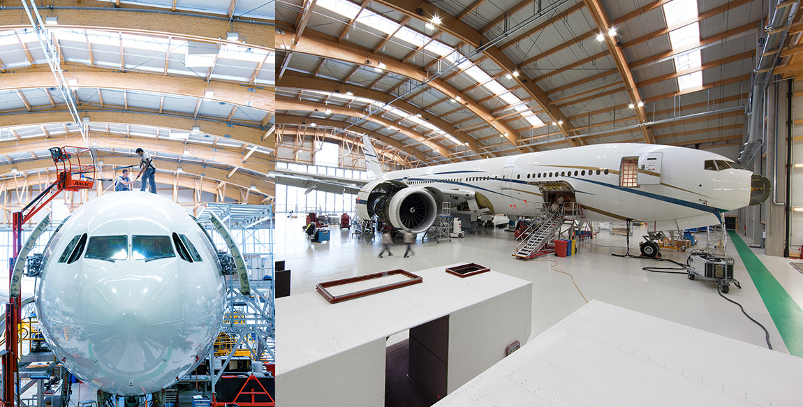 AMAC Maintenance Basel Hangar