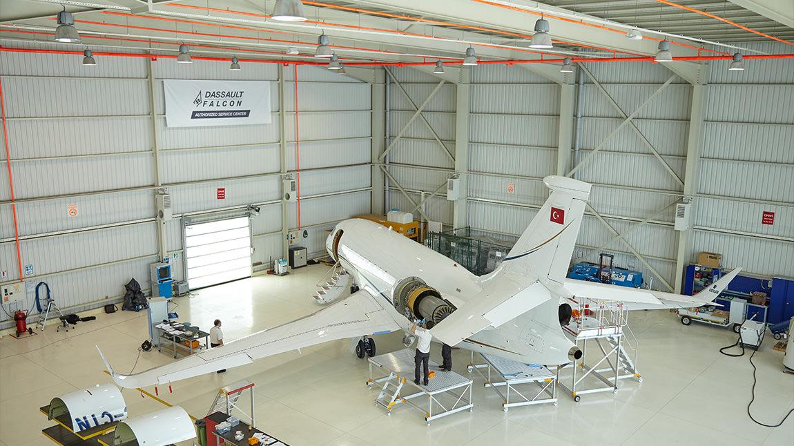 AMAC Maintenance Istanbul Hangar