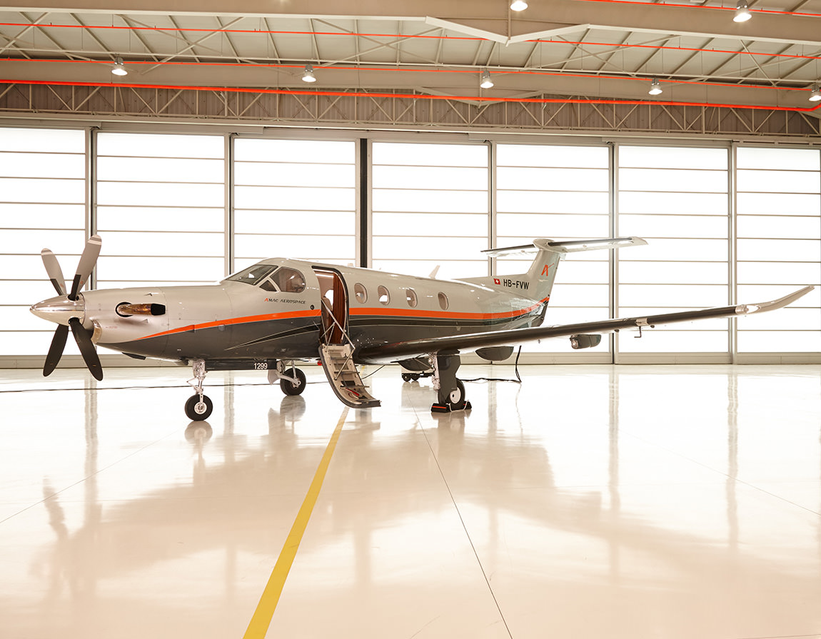 AMAC Pilatus Sales PC 12 glance
