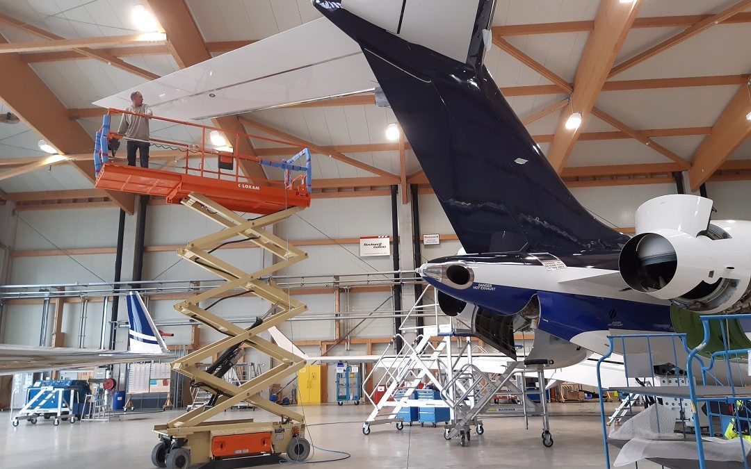 New Maintenance Projects for Bombardier aircraft