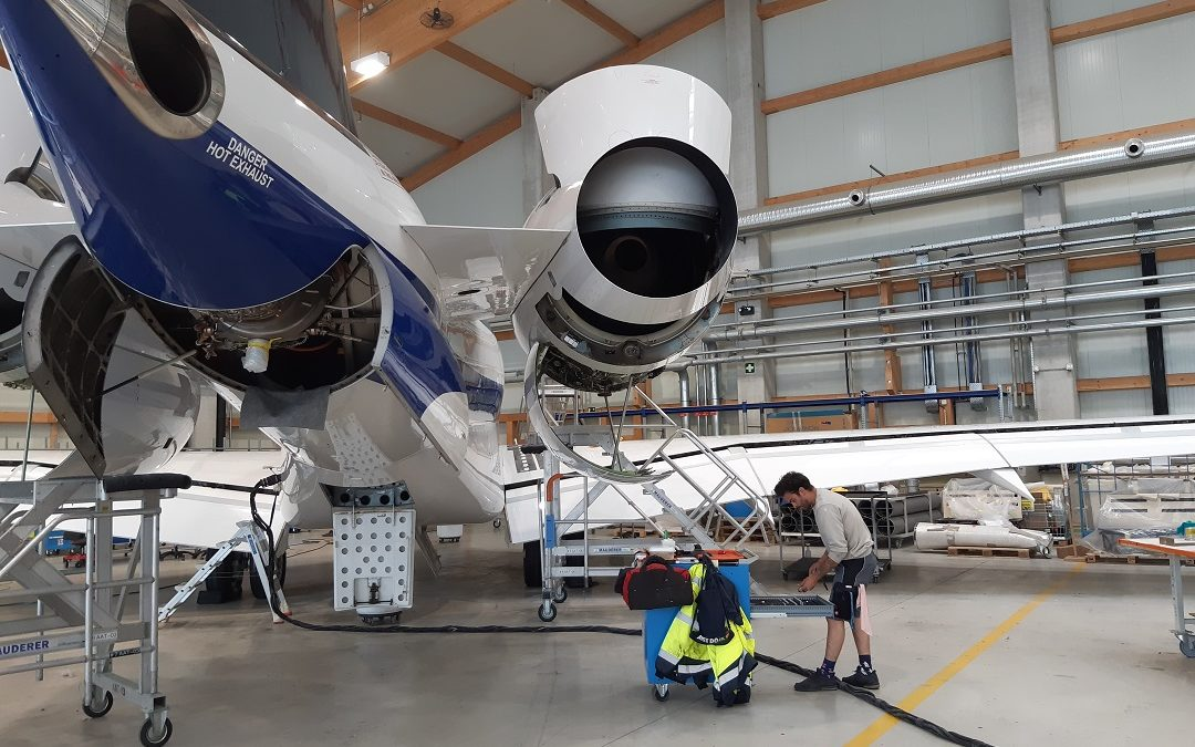 New maintenance contract for a Bombardier Global Express