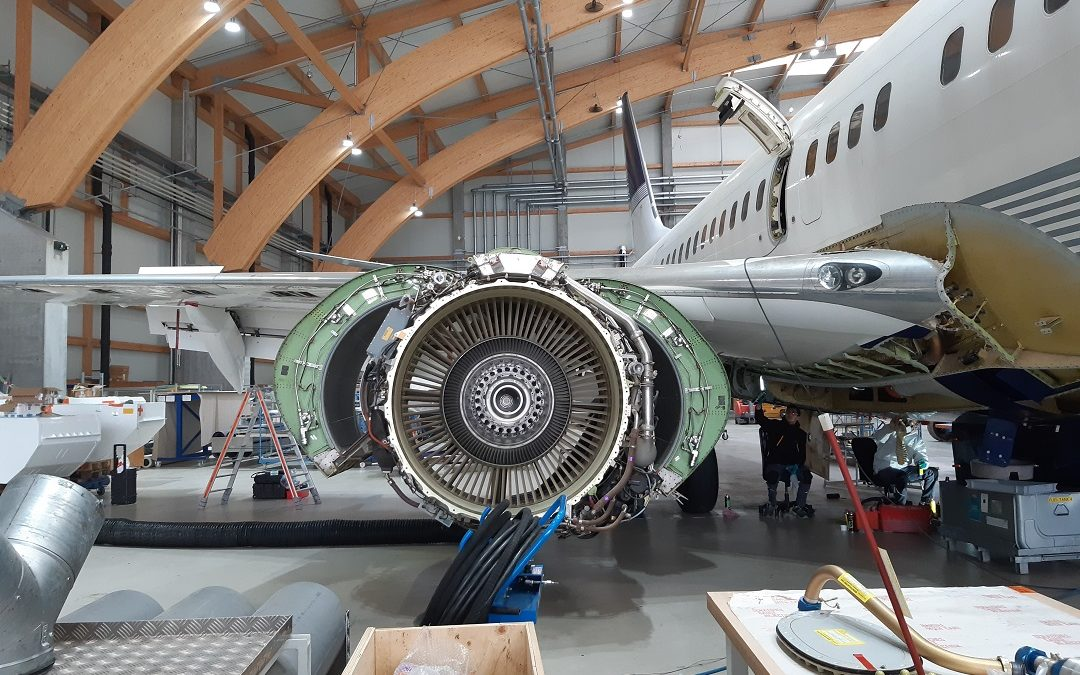 Two Boeing B737: Extensive Maintenance Checks and Ka-Band Installation