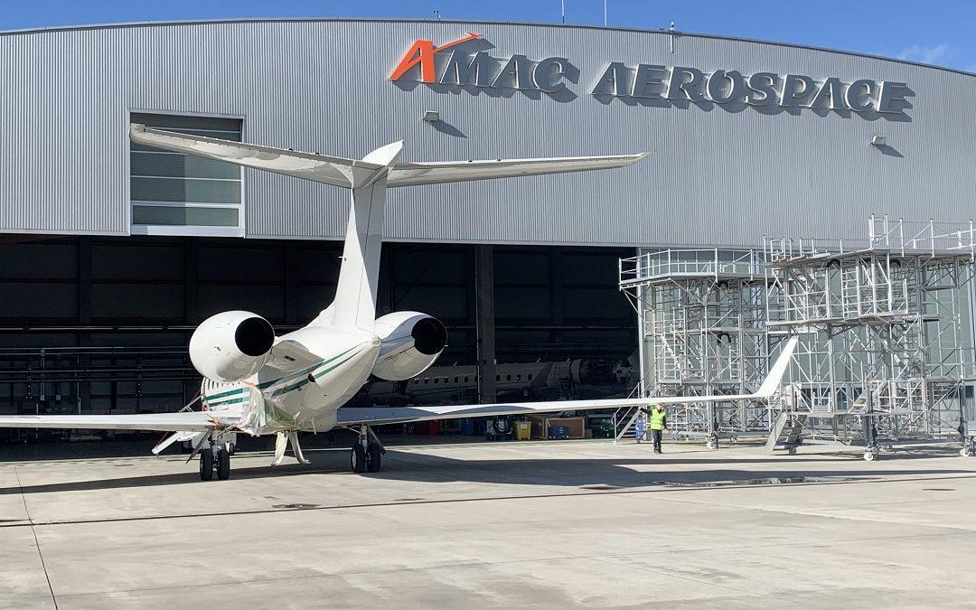 AMAC Aerospace Maintenance: C-Check on a Gulfstream 550