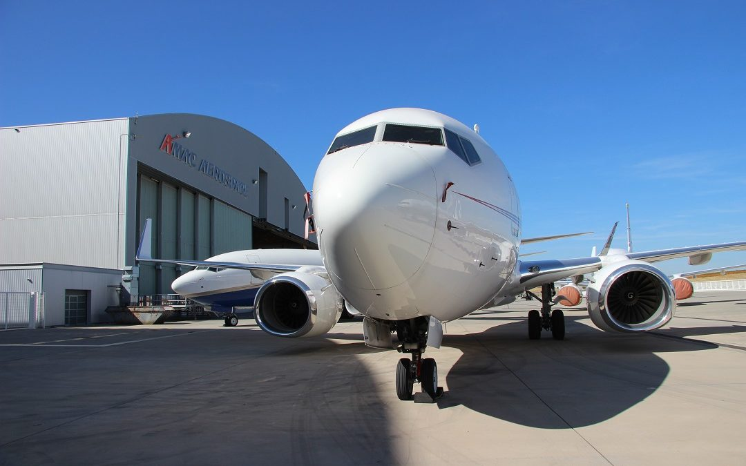 'IFE' Installation & Base Maintenance: AMAC Aerospace won two new Contracts on Boeings BBJ's.
