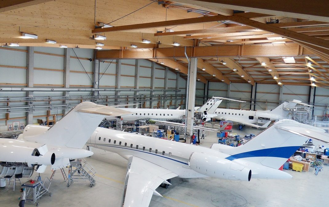 New Bombardier maintenance contracts for AMAC Aerospace