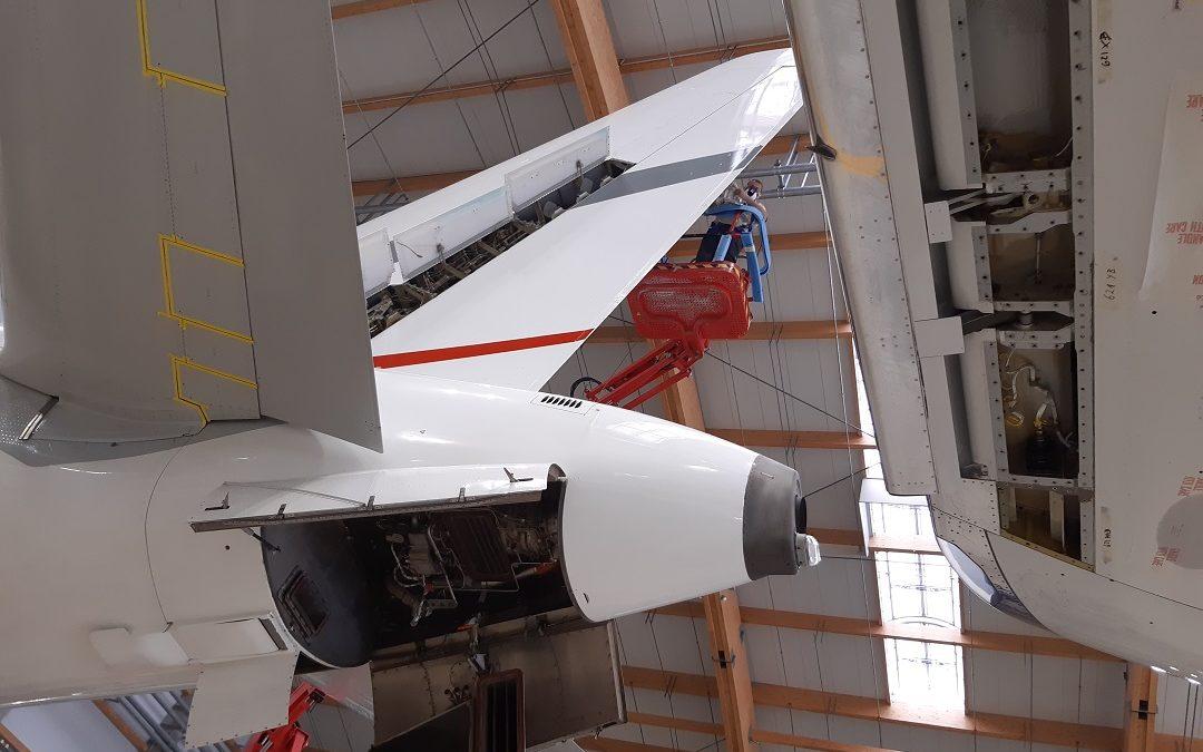 Maintenance News: AMAC Aerospace welcomes an Airbus ACJ319