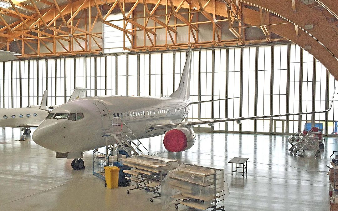 New Landing Gear Project on a B737 for AMAC Aerospace