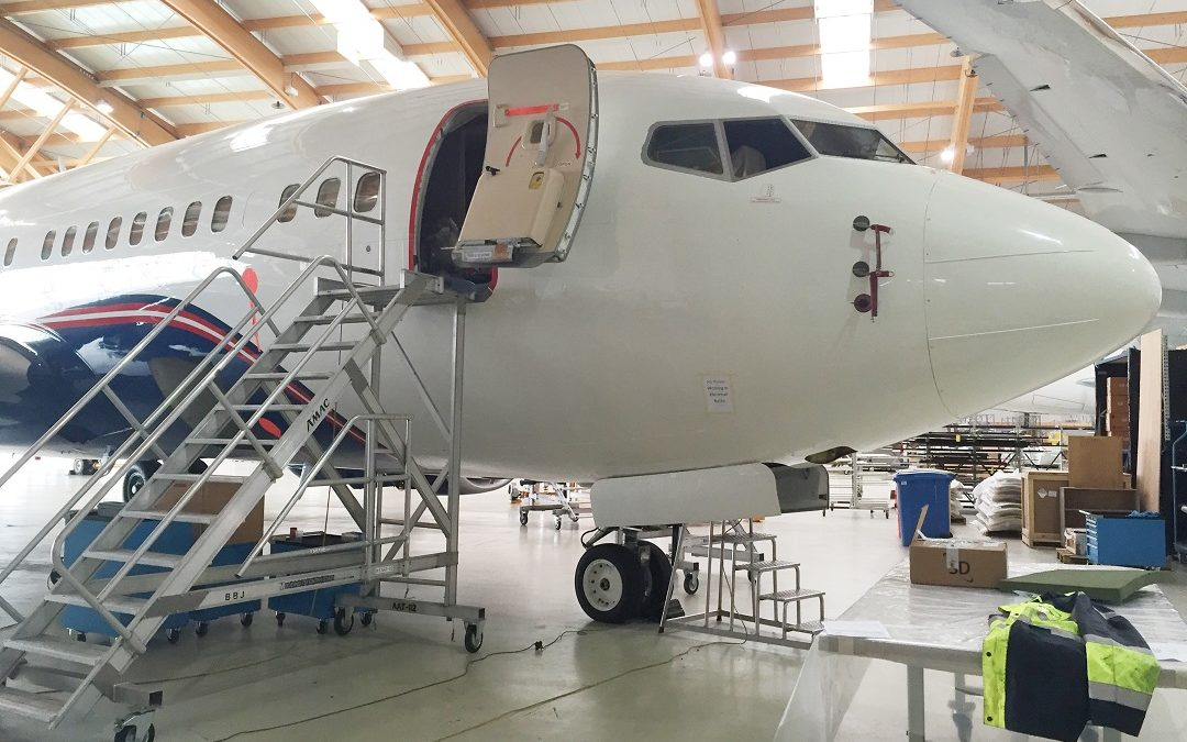 New Maintenance and Cabin Modification Project on a Boeing B737