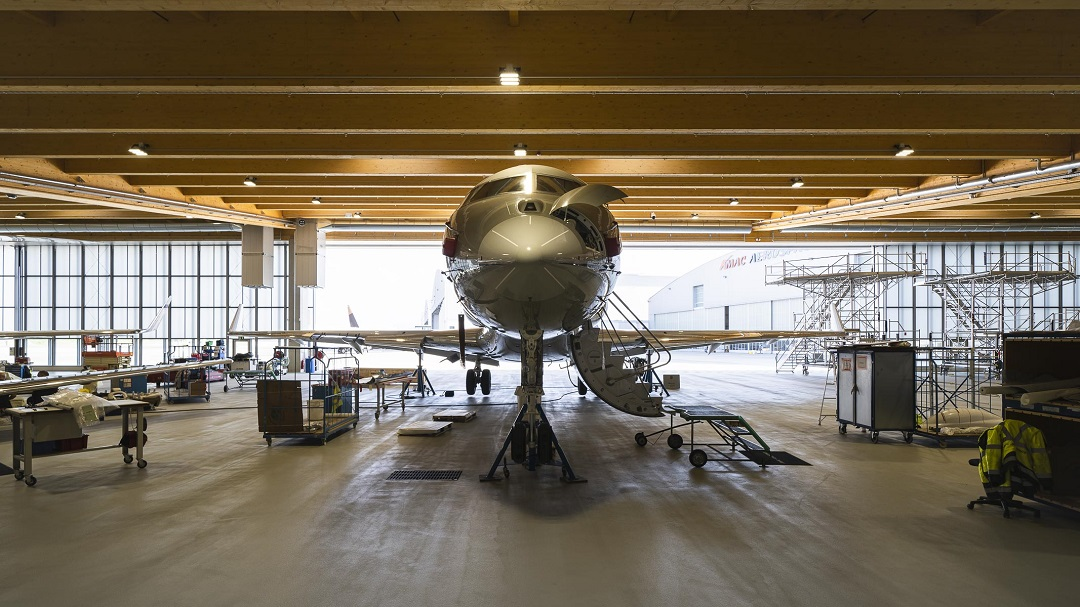 Arrival of two Bombardier Aircraft at AMAC Aerospace