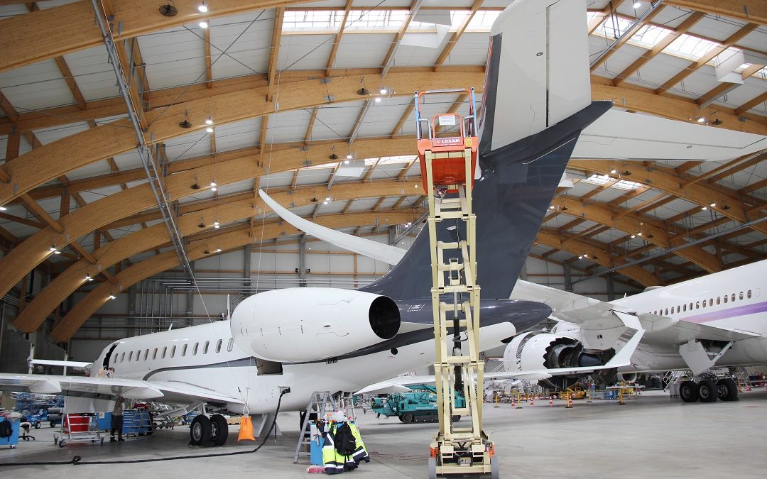 New Maintenance Project on a Global Express