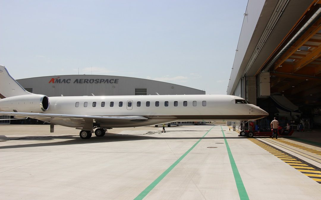 First Re-Delivery of Bombardier Global 7500