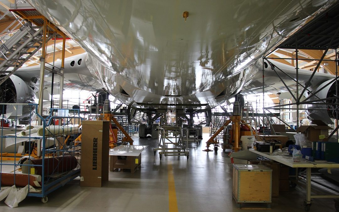 Heavy Base Maintenance on a Boeing B747 within reduced ground-time